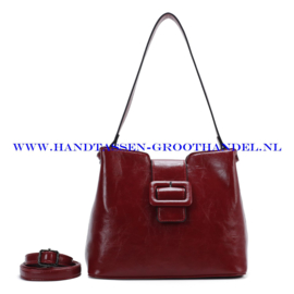 N72 Handtas Ines Delaure 1682541 rood