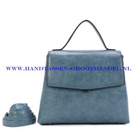 N39 Handtas Ines Delaure 1682841 turquin (blauw)