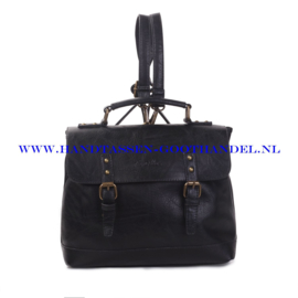 N38 Handtas Ines Delaure 1681652 zwart