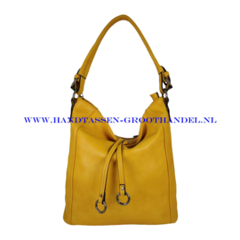 N38 Handtas Flora & Co 7903 moutarde (geel)
