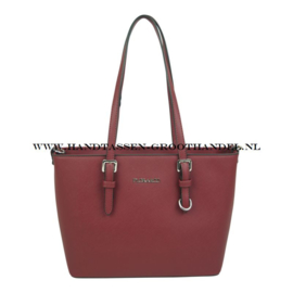 N73 Handtas Flora & Co F9179 bordeaux