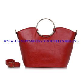 N73 Handtas Ines Delaure 1682376 pasteque (rood)