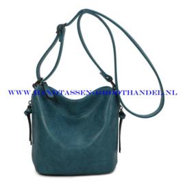 N27 Handtas Ines Delaure 1682059 bleu paon (blauw)