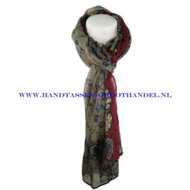 N7 sjaal 1010 bordeaux