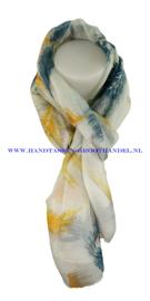 N5 sjaal enec-1013 blauw