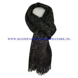 N101 sjaal ENEC-845 zwart