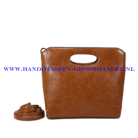 N38 Handtas Ines Delaure 1682627 moutarde (mosterd - geel)