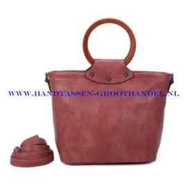 N39 Handtas Ines Delaure 1682852 bois de rose (roze)