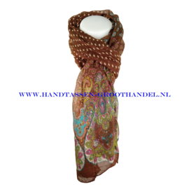 N7 sjaal 1014 bruin