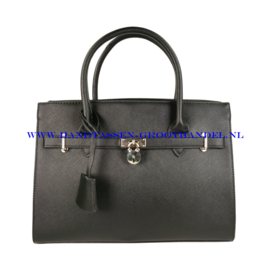 N76 Handtas Flora & Co 6513 zwart