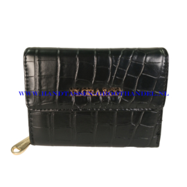 N20 portemonnee Flora & Co 2703 zwart