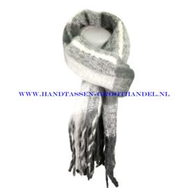 N68 sjaal 1826 grijs