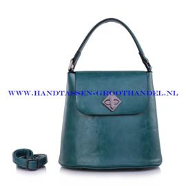 N28 Handtas Ines Delaure 1682348 emeraude (groen - blauw)