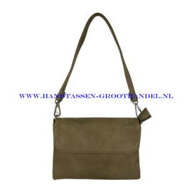 N20 Handtas Flora & Co h9158 kaki (groen)
