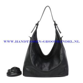 N39 Handtas Ines Delaure 1682832 zwart