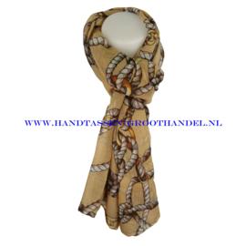 N5 sjaal ENEC-823 kaki (camel)