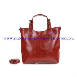 N72 Handtas Ines Delaure 168168 brique (rood - camel)