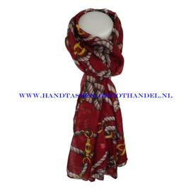 N5 sjaal ENEC-823 jujubee red (rood)