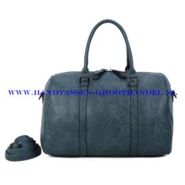 N41 Handtas Ines Delaure 1682779 petroel (blauw)