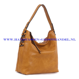 N38 Handtas Ines Delaure 1682221 saffran (geel)