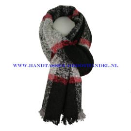 N14 sjaal ENEC-919 zwart