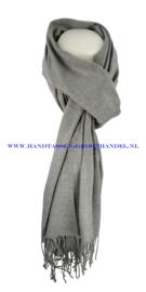 N7 sjaal ENEC-800 gris argente (grijs-zilver)