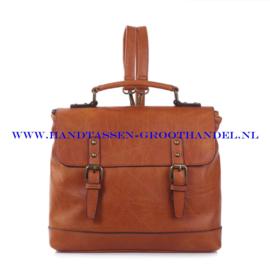 N38 Handtas Ines Delaure 1681652 fauve (oranje - camel)