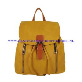 N72 Handtas Flora & Co 6735 moutarde (mosterd - geel)