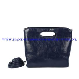 N38 Handtas Ines Delaure 1682627 blauw