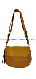 N33 Handtas/heuptas Flora & Co 8038 moutarde (mosterd - geel)