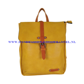 N36 Handtas Flora & Co 6730 moutarde (geel)