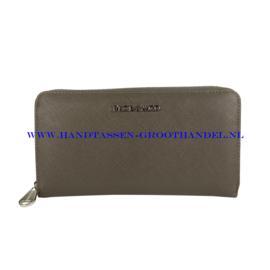 N20 portemonnee Flora & Co k1688 gris fonce (grijs)