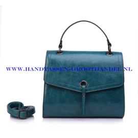 N72 Handtas Ines Delaure 1682327 emeraude (groen - blauw)