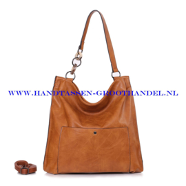 N73 Handtas Ines Delaure 1682392 gold (camel - bruin)