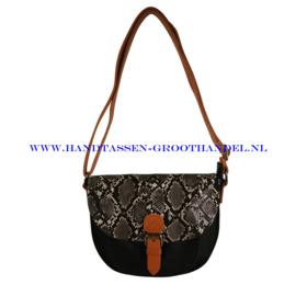 N32 Handtas Flora & Co 6779 zwart