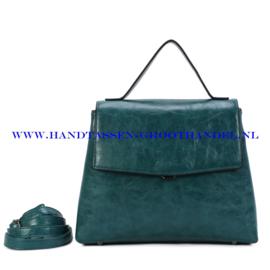 N39 Handtas Ines Delaure 1682841 emeraude (groen)