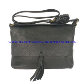 N32 Handtas Flora & Co 8044 zwart