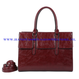 N41 Handtas Ines Delaure 1682781 marsala (rood)