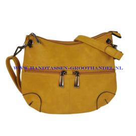 N23 Handtas Flora & Co 7967 moutarde (mosterd - geel)