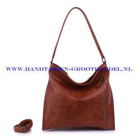 N38 Handtas Ines Delaure 1682302 camel