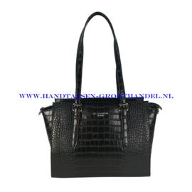 N73 Handtas Flora & Co 8029 zwart