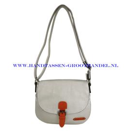 N27 Handtas Flora & Co 6753 argent (zilver)