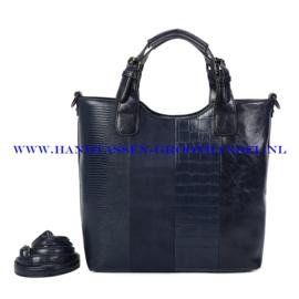 N117 Handtas Ines Delaure 1682738 nuit (blauw)