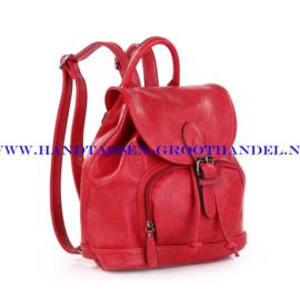 N34 Handtas-rugzak Ines Delaure 168485 marsala (rood - bordeaux)