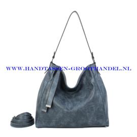 N39 Handtas Ines Delaure 1682868 bleu stone (blauw)