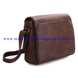 N41 Men bag Blue Smith H163 marron (bruin)