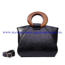 N73 Handtas Ines Delaure 1682209 zwart