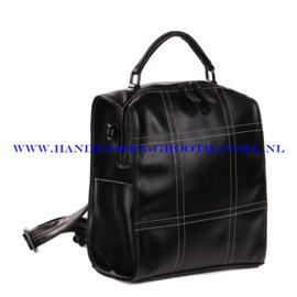 N38 Handtas-rugzak Ines Delaure 1682027 zwart