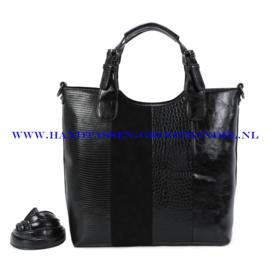 N117 Handtas Ines Delaure 1682738 zwart