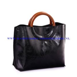 N73 Handtas Ines Delaure 1681677 zwart